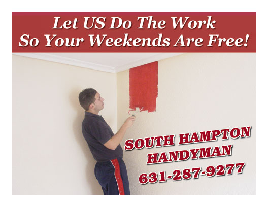 Handyman services and home improvement. Southampton, NY.